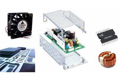 Distribution von Elektronikkomponenten