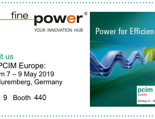 Finepower @ PCIM Europe 2019 hall 9, booth 440