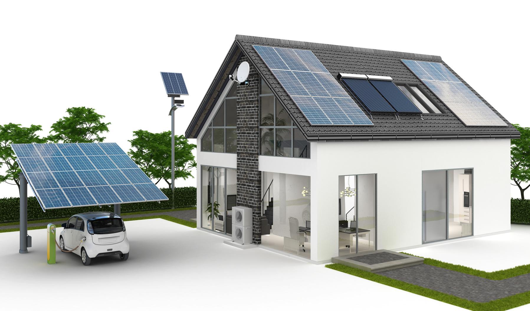 Verwendung von Batteriespeichersystemen für die Energieversorgung eines Einfamilienhauses