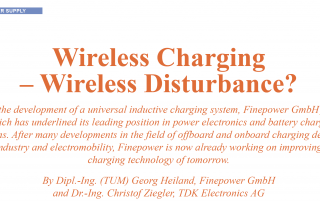 Wireless Charging - Induktive Ladesysteme