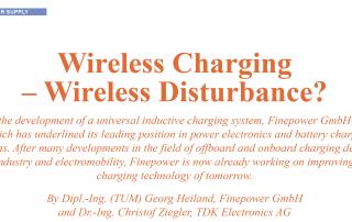 Wireless Charging - Induktive Ladesysteme