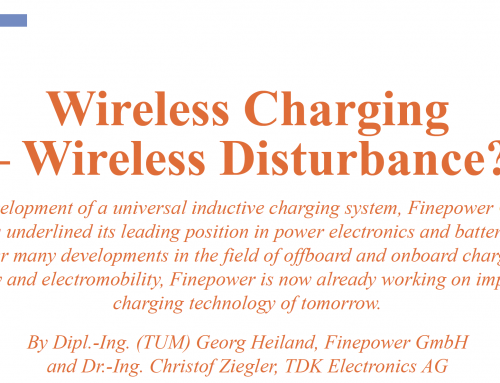 Article: Wireless Charging – Wireless Disturbance