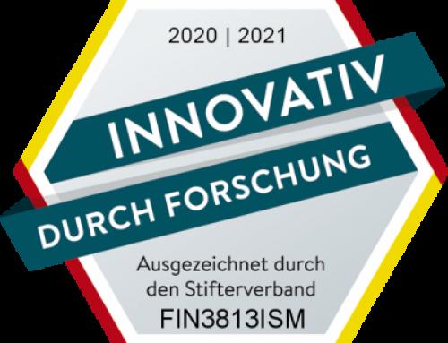 """Stifterverband für die deutsche Wissenschaft würdigt Finepower mit dem Siegel """"Innovativ durch Forschung"""""""