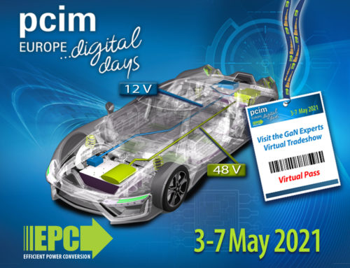 New EPC eGaN® products at PCIM Europe 2021 Digital Days