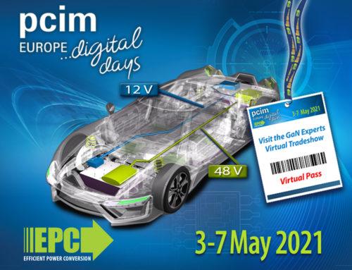 Neue eGaN®-Produkte auf PCIM Europe 2021 Digital Days