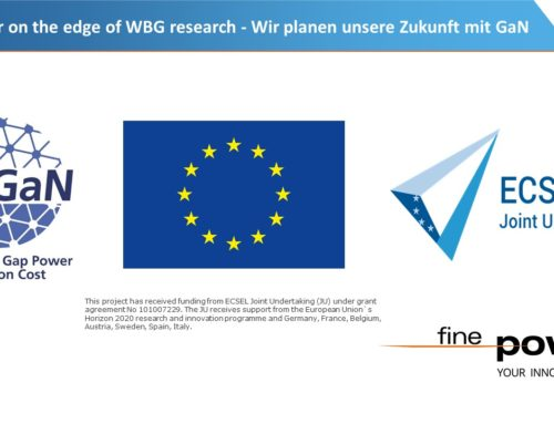Finepower on the edge of WBG research – we are planing our future
