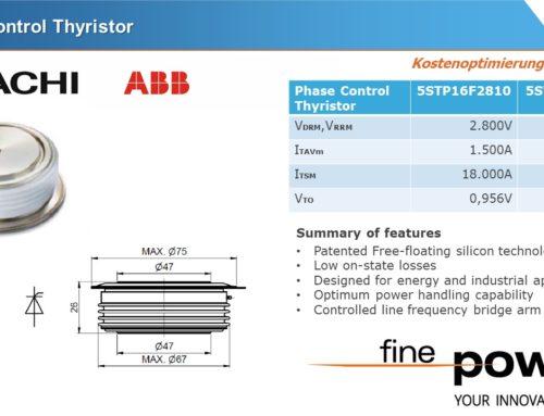 Kostenoptimierung – bei Low Voltage PCT in F Gehäuse