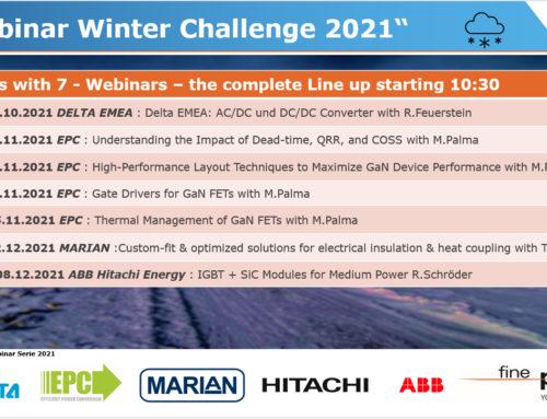 Invitation to Finepower Winterchallenge 2021